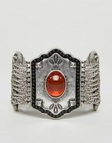 NY:LON Chunky Stone Detail Festival Bracelet