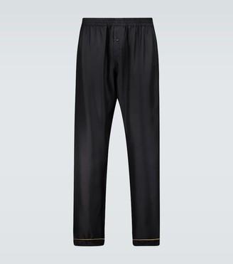 Versace Silk pajama pants