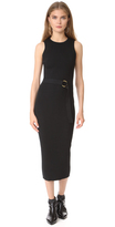 Diane von Furstenberg Sleeveless Knit Belted Dress