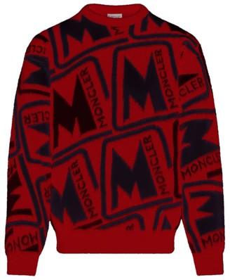 Moncler Jacquard Wool Sweater