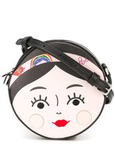 Dolce & Gabbana girl face shoulder bag