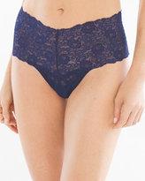 Soma Intimates Allover Lace Retro Thong