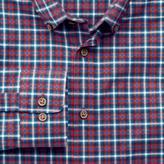 Charles Tyrwhitt Slim fit red and blue check shirt