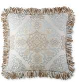 """Waterford Jonet Embroidered Decorative Pillow, 18"""" x 18"""""""