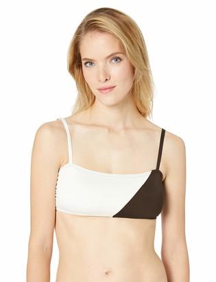 Vince Camuto Women's Square Neck Bikini top Swimsuit