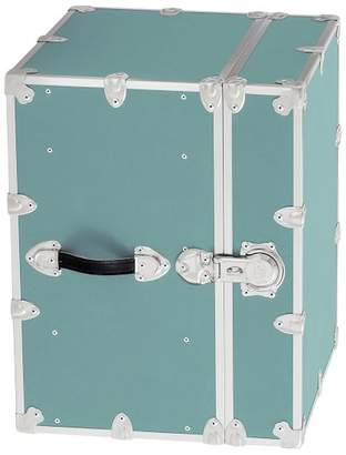 Pottery Barn Teen Canvas Dorm Trunk with Silver Trim, Bedside, Pool