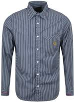 Vivienne Westwood Stripe Shirt Blue