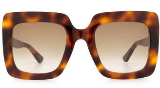 Gucci Gg0328s Havana Sunglasses