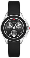 Michele Cape Chronograph Watch w/Silicone Strap