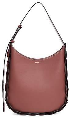 Chloé Women's Medium Darryl Braided Leather Hobo Bag