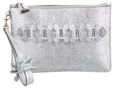 Anya Hindmarch Metallic Zip Clutch w/ Tags