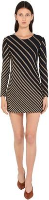 Missoni Striped Viscose Blend Mini Dress