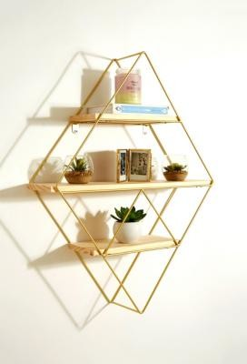 Urban Outfitters Diamond Shelf - Gold ALL at