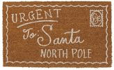 Pottery Barn Santa's Postcard Doormat