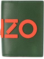 Kenzo logo appliquéd wallet - men - Leather - One Size