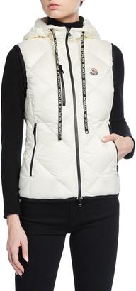 Moncler Sucrex Box-Quilt Vest
