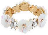 Expression Sequins Flower Stretch Bracelet