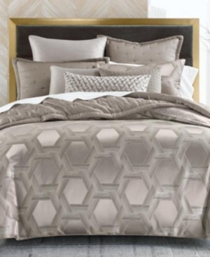 Hotel Collection Honeycomb Trellis King Comforter, Created for Macy's Bedding