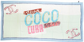 One Kings Lane Vintage Chanel Viva Coco Cuba Cashmere Shawl - Vintage Lux - multi