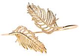 Amrita Singh Leaf Cuff Bracelet