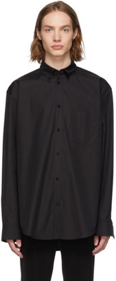 Balenciaga Black Normal Fit Shirt