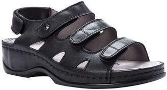Propet Leather Slingback Comfort Sandals - Kara