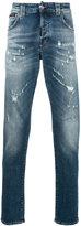 Philipp Plein distressed jeans - men - Cotton/Spandex/Elastane - 30