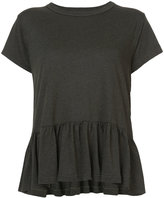 The Great frill-hem T-shirt - women - Cotton/Polyester/Rayon - 1