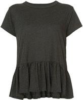 The Great frill-hem T-shirt - women - Cotton/Polyester/Rayon - 1