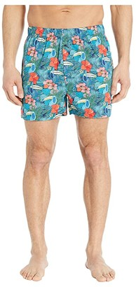 Tommy Bahama Printed Woven Boxers (Toucan) Men's Underwear
