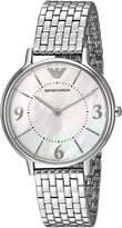 Emporio Armani Women's AR2507 Kappa Analog Display Analog Quartz Watch