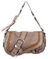 Christian Dior Leather Gaucho Bag