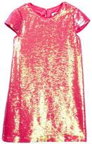 Milly Minis Sequin Cap Sleeve Dress (Toddler & Little Girls)