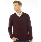 French Connection Mens Cash V-Neck Jumper Chateaux