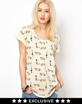 Worn By Cats T-Shirt Exclusive To Asos