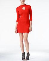 GUESS Guia Mock-Neck Bodycon Dress
