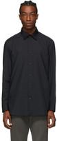 Issey Miyake Black Pleated Shirt