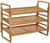 Honey-Can-Do Nesting Bamboo Shoe Rack