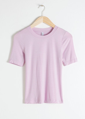 And other stories Fitted T-Shirt