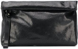 Ann Demeulemeester Roll-Top Clutch Bag