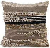 Karma Living Natural & Black Wool Pillow
