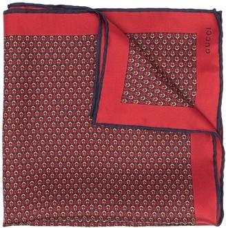 Gucci Interlocking G-print silk pocket square
