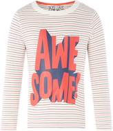 Joules Boys Awesome Stripe Long Sleeve T-Shirt