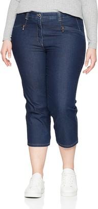 Ulla Popken Women's Jeans Mony wadenlang Trouser