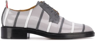 Thom Browne Stripe-Detail Lace-Up 35mm Shoes