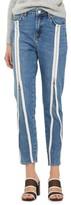 Topshop Women's Zip Straight Leg Jeans