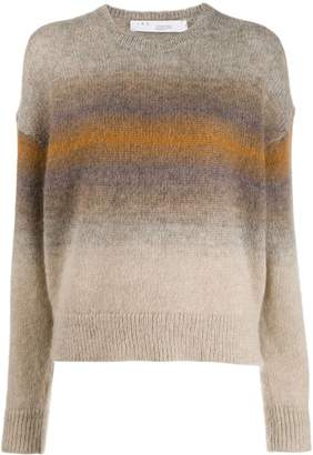 IRO ombré stripes sweater