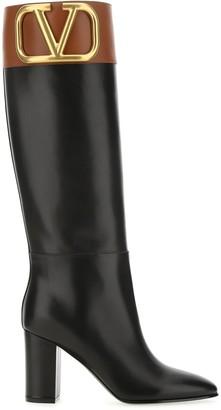 Valentino Supervee Block Heel Boots