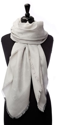 Moda In Pelle Florencescarf White Fabric