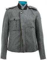 Ann Demeulemeester military jacket - men - Cotton/Linen/Flax/Rayon - S